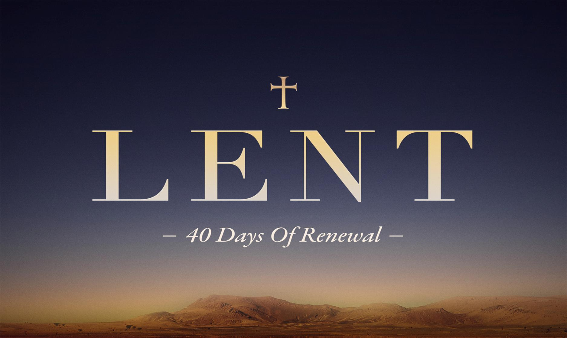 Daily Scripture Readings for Lent